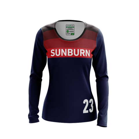 Arizona Sunburn Dark LS Jersey