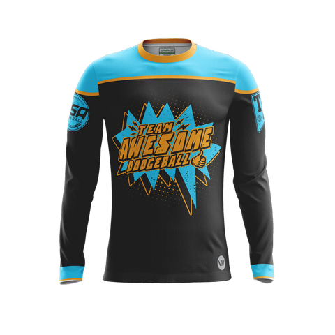 Team Awesome Dodgeball POW LS Jersey