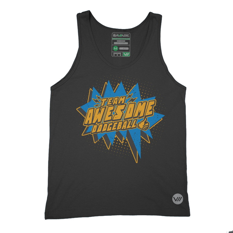 Team Awesome Dodgeball Tank