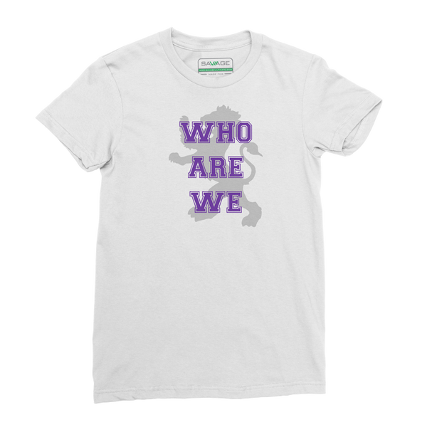 "EC Quidditch ""Who Are We"" Tee"