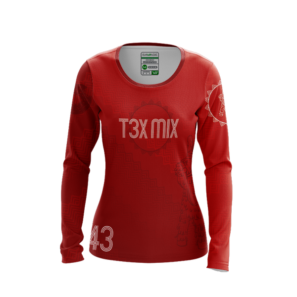 Tex Mix Dark LS Jersey