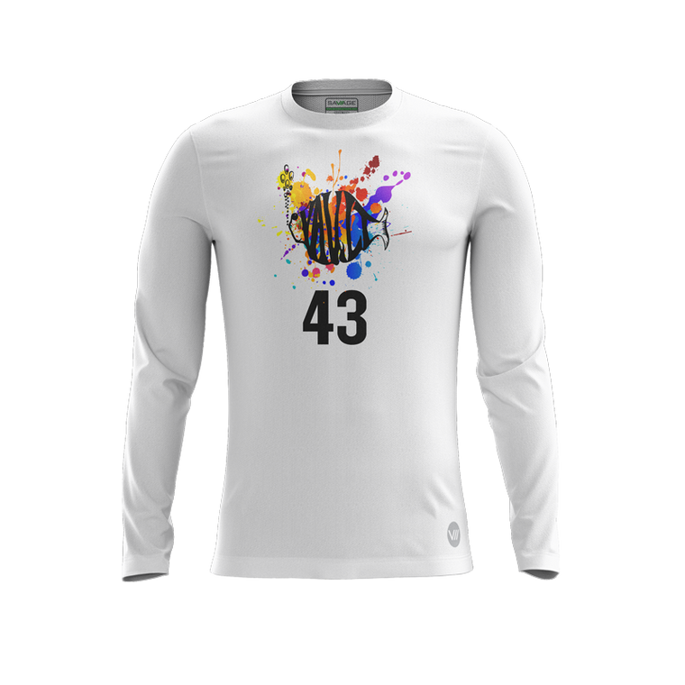 VAult Ultimate White LS Jersey