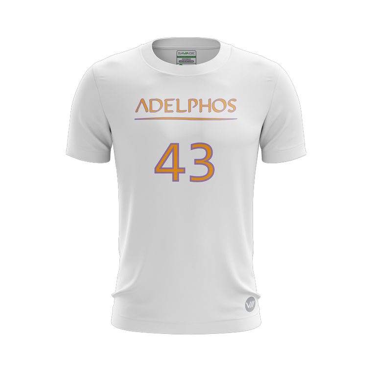 Adelphos Ultimate White Jersey