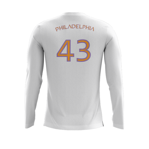 Adelphos Ultimate White LS Jersey