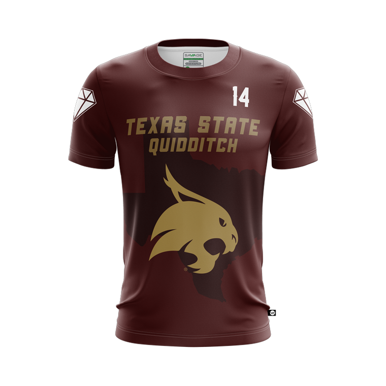 Texas State Quidditch Jersey