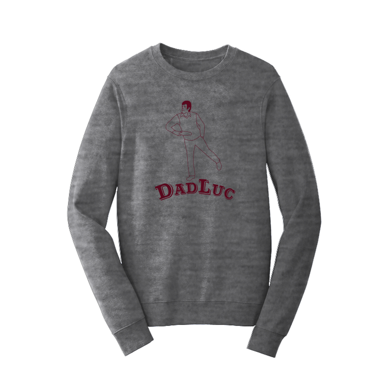 Dad Luc Crewneck Sweatshirt
