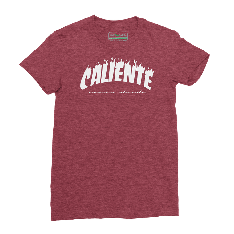 Caliente Ultimate Heather Red Tee