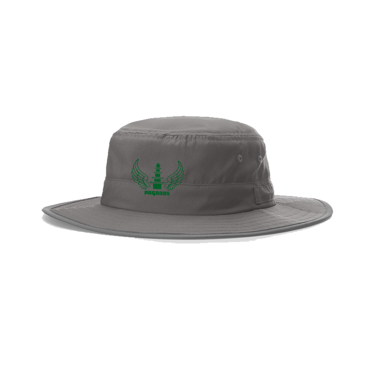 Flying Pagodas Bucket Hat