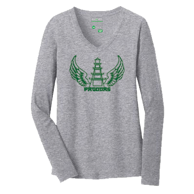 Flying Pagodas LS Tee