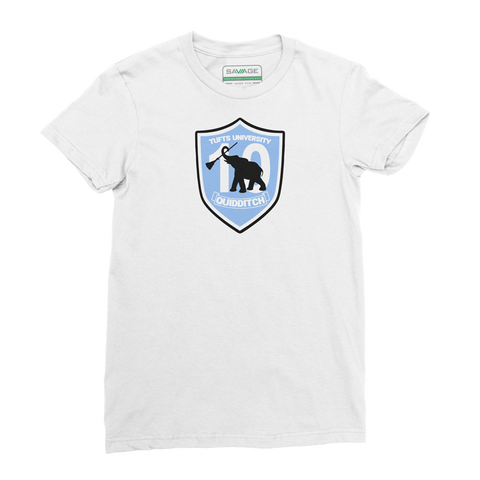 Tufts Quidditch 10th Anniversary Tee