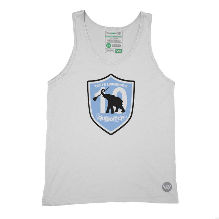 Tufts Quidditch 10th Anniversary Tank