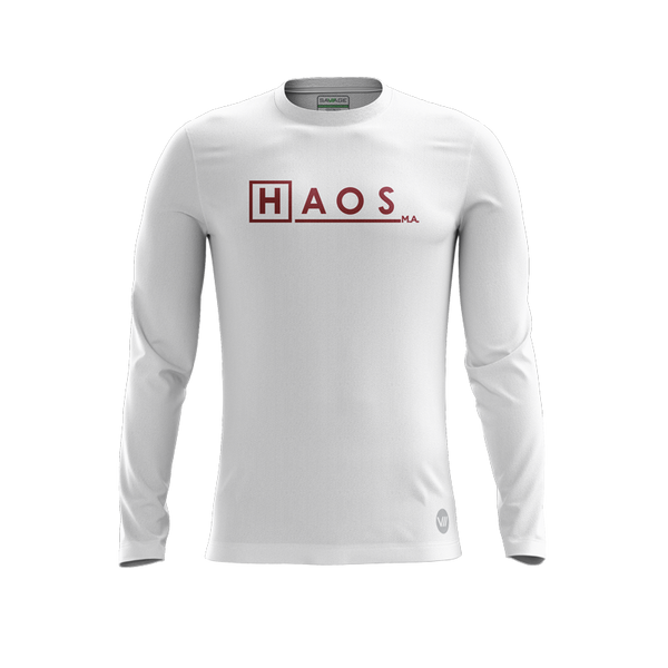 HAOS Ultimate M.A. White LS Jersey