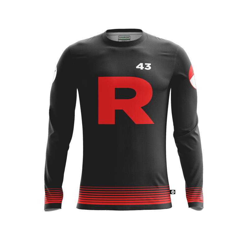 Cortland Men's Ultimate Black LS Jersey