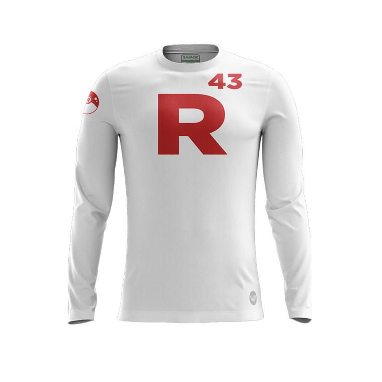 Cortland Men's Ultimate White LS Jersey