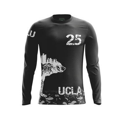 UCLA Blu Dark Long Sleeve Jersey