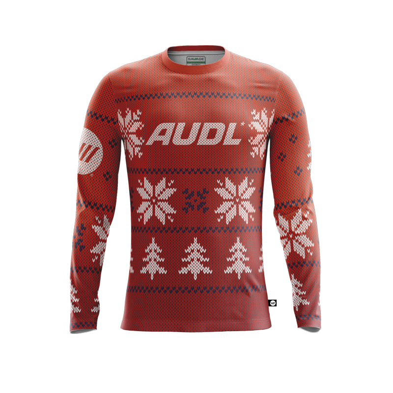 AUDL Holiday Jersey