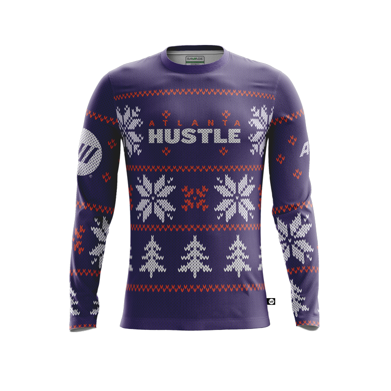 Atlanta Hustle Holiday Jersey