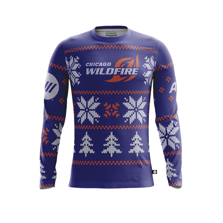 Chicago Wildfire Holiday Jersey