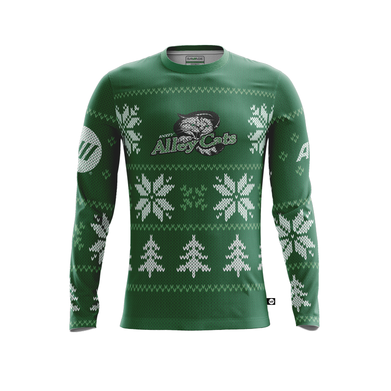 Indianapolis AlleyCats Holiday Jersey