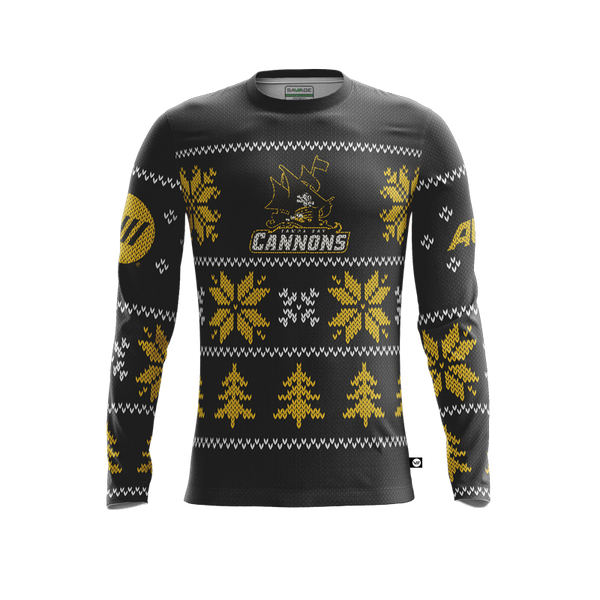 Tampa Bay Cannons Holiday Jersey