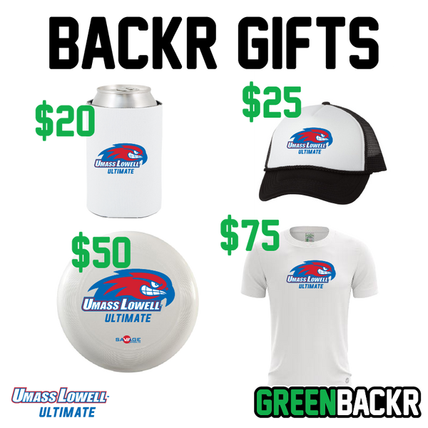 Umass Lowell Men's Ultimate Greenbackr