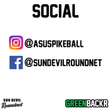 Sun Devil Roundnet Greenbackr