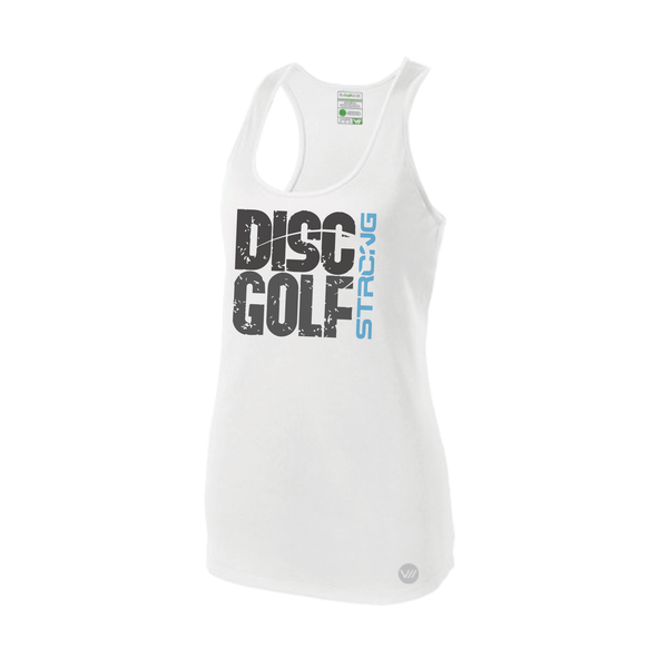Disc Golf Strong Racerback