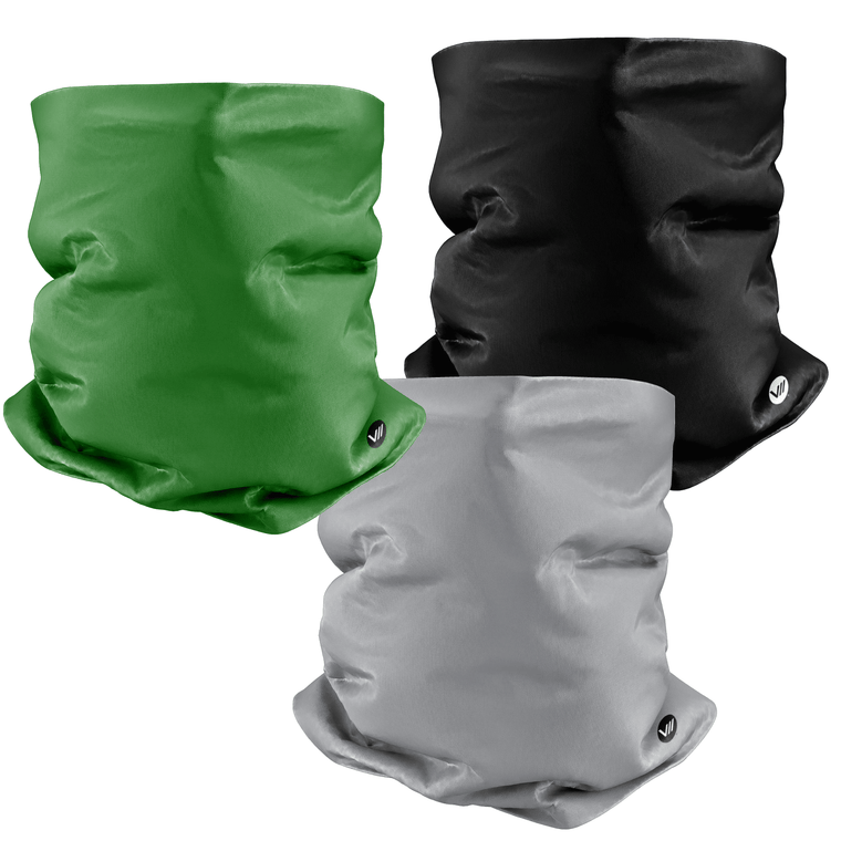 Solid Color Neckies - 3 Pack