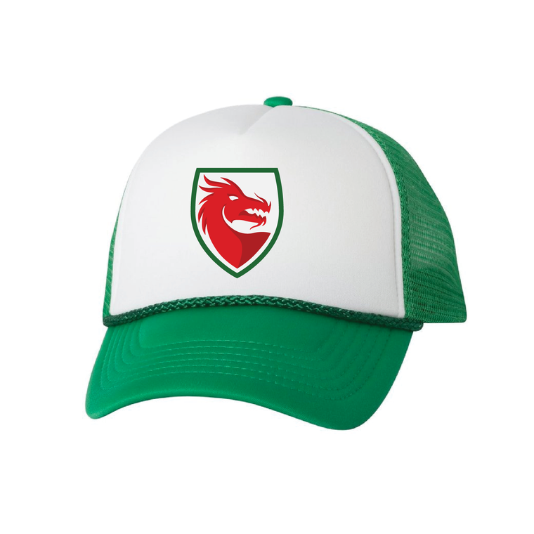 QPL Welsh Dragons Trucker Hat