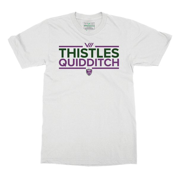 QPL Scottish Thistles Fan Tee