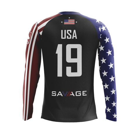 US National Quidditch Team Alt Jersey (Long Sleeve)