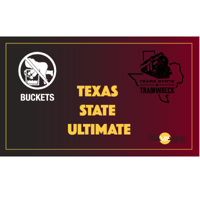 Texas State Buckets Flag