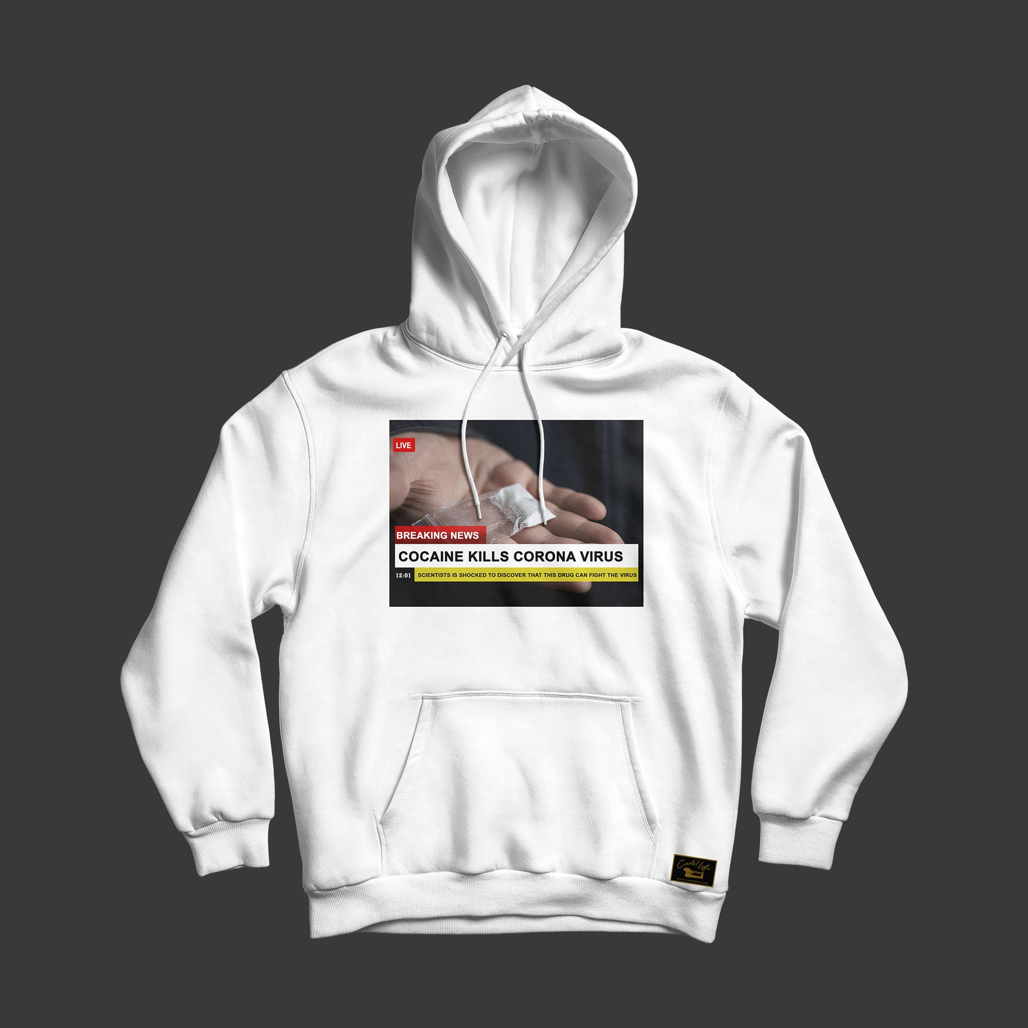 Kill The Virus Hoodie