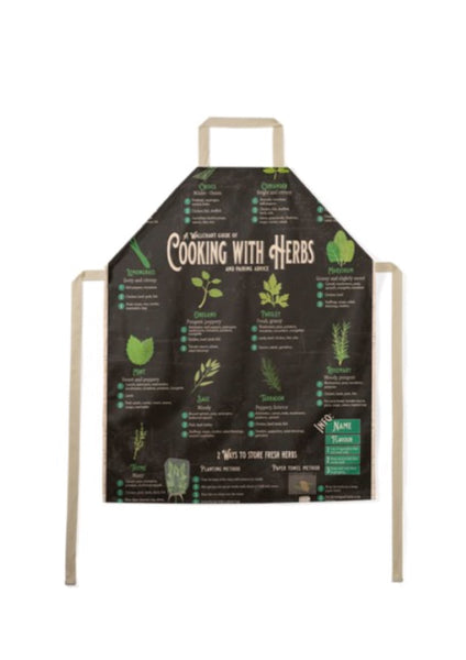 Cooking with Herbs Apron