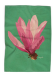 Magnolia Tea Towel