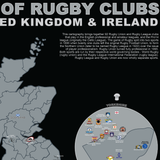 The GB Map of Rugby Clubs