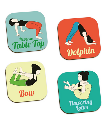 Yoga Move coasters