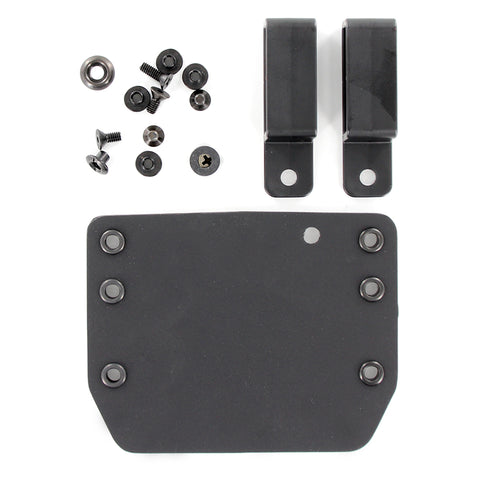 OWB - Single Mag Holster - Matte Black (DIY KIT)