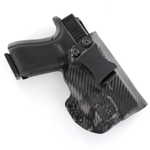 IWB - ALL KYDEX- COMPACT TACTICAL - Black Carbon Fiber