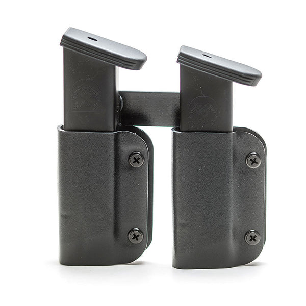 IWB/OWB - Double Mag Holster - Matte Black
