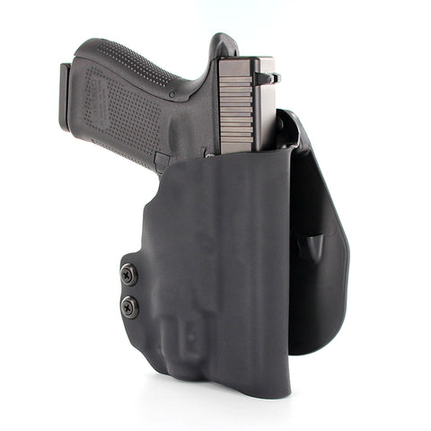 OWB - COMPACT TACTICAL - PADDLE HOLSTER - Black Carbon Fiber