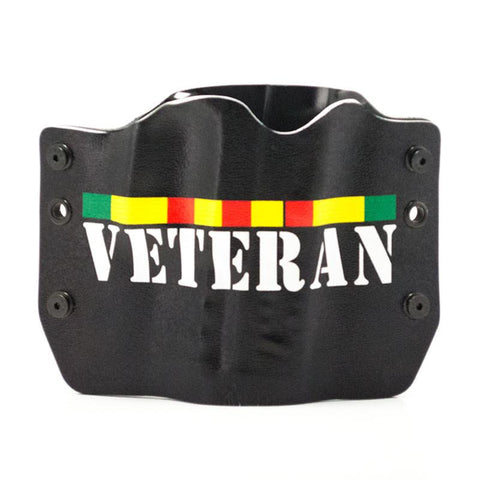 Image of Vietnam Veteran on Kydex Gun Holster