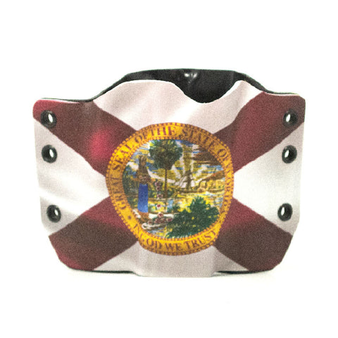 Image of Florida Flag on Kydex Gun Holster