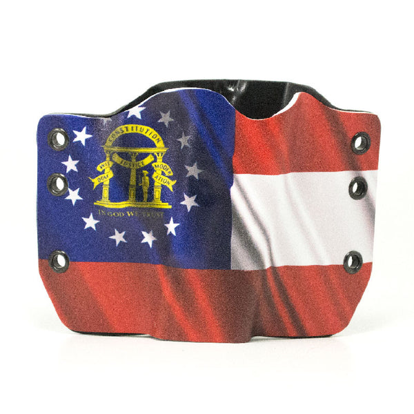 Image of Georgia Flag on Kydex Gun Holster