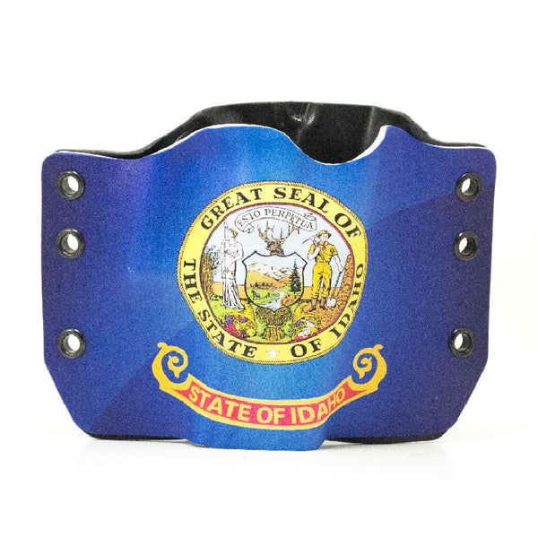 Image of Idaho Flag on Kydex Gun Holster