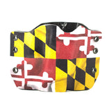 Image of Maryland Flag on Kydex Gun Holster