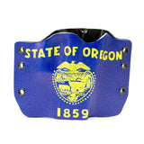 Image of Oregon Flag on Kydex Gun Holster