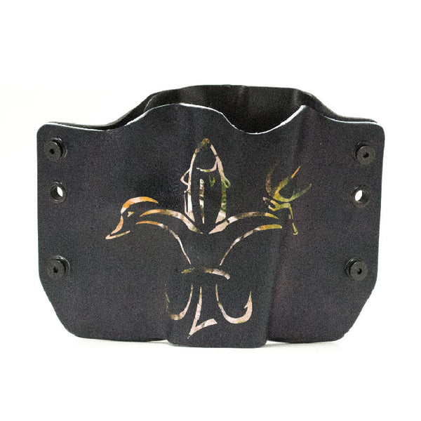 Image of Fleur De Lis Animal Camo on Kydex Gun Holster