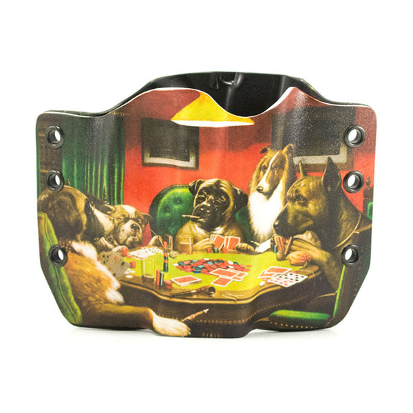Image of Dogs Playing Poker on Kydex Gun Holster
