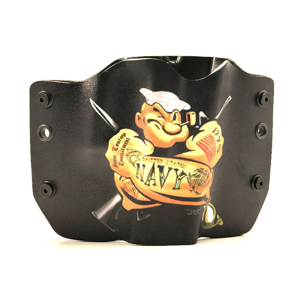 Image of Popeye Tattoo on Kydex Gun Holster